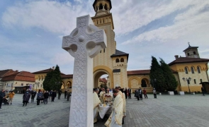 slujire arhiereasca la catedrala reintregirii