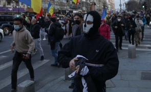 Inquam protest masca