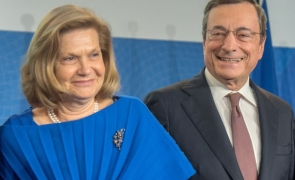 Mario Draghi și Maria Serenella Cappello