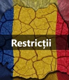 restrictii romania