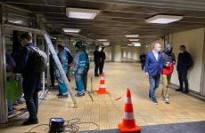 demolare panouri metrou