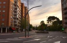 bloc blocuri strada trecere de pietoni