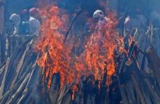 india incinerare parcare