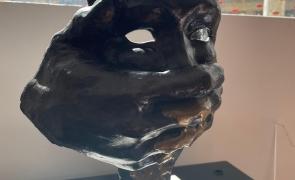 Mască - Radu Panait expoziția Noua sculptură ani. Dincolo de Canon'