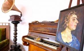 pian pictor tablou muzeu