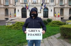 Paul Nicolae Feroiu politist mascat greva foamei MAI