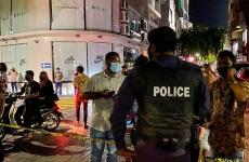 Maldive atentat politie