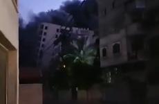 atac rachete imobil