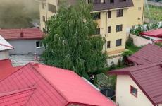 incendiu bloc mansarda Ilfov
