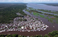 manaus brazilia inundatii amazon