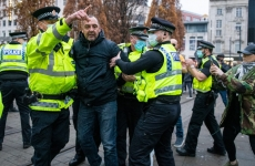 sua politie protest