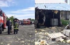 explozie, fabrica, pompieri