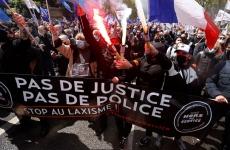 protest politie franta