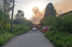 incendiu depozit Bucuresti