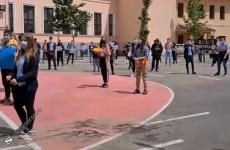 protest elevi oradea