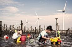 copii turbină eoliană mediu planeta clima