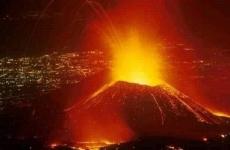 Nyiragongo volcano vulcan