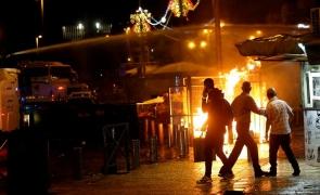 violente israel