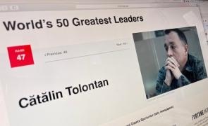 Cătălin Tolontan Top Fortune 50 Greates Leaders