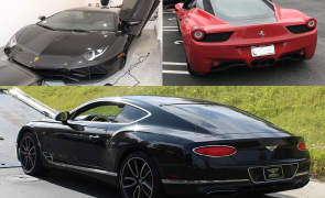 Ferrari, Lamborghini Bentley masini