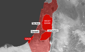 gaza israel west bank