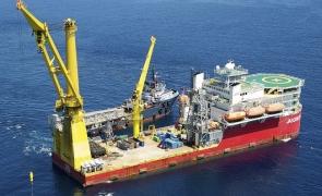 Nord Stream-2 Nava rusească
