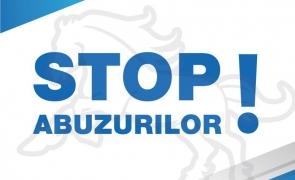 stop, abuz, abuzuri,