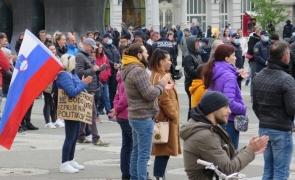 Ljubljana Slovenia protest