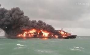 sri lanka incendiu nava cargo