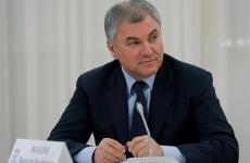 Președintele Dumei de Stat, Viaceslav Volodin