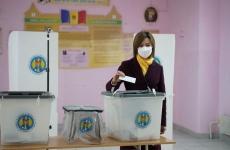 Maia Sandu vot