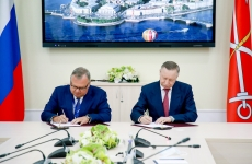 Aleksandr Beglov Andrei Kostin au semnat un acord