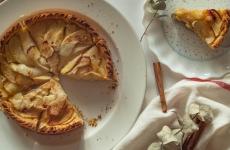 Plăcinta americană cu mere mancare