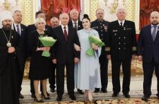 'Erou al Muncii' Vladimir Putin