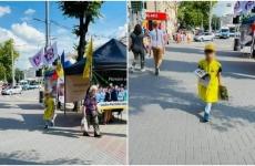copil campanie electorala chisinau