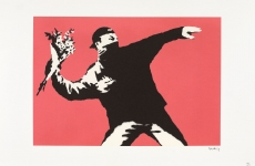 Love is in the air Bansky