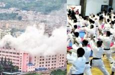 incendiu china