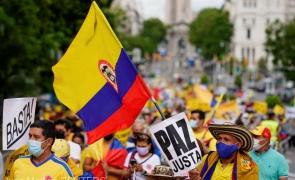 Columbia proteste