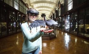 muzeu istorie naturala realitate augmentata