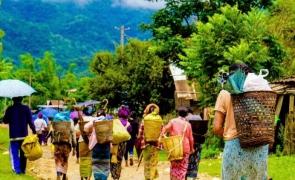 refugiați din Myanmar