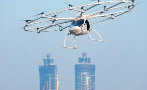 Taxiuri zburătoare Volocopter aeronava electrică