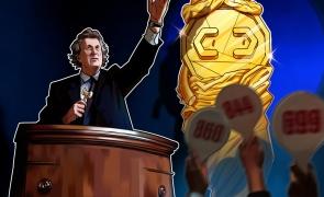 Licitatie criptomonede bitcoin