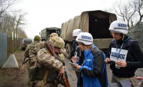 Donbass armata militari rusi