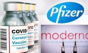 Moderna Pfizer vaccin