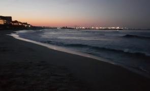 plaja seara