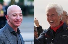 Wally Funk  Jeff Bezos