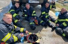 pompieri incendiu rafinaria petromidia