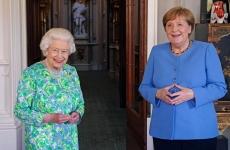 Angela Merkel Regina Elisabeta a II a