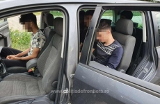 Constanţa migranţi ilegali Poliţiştii de frontieră
