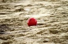 handbal pe plaja minge sport nisip